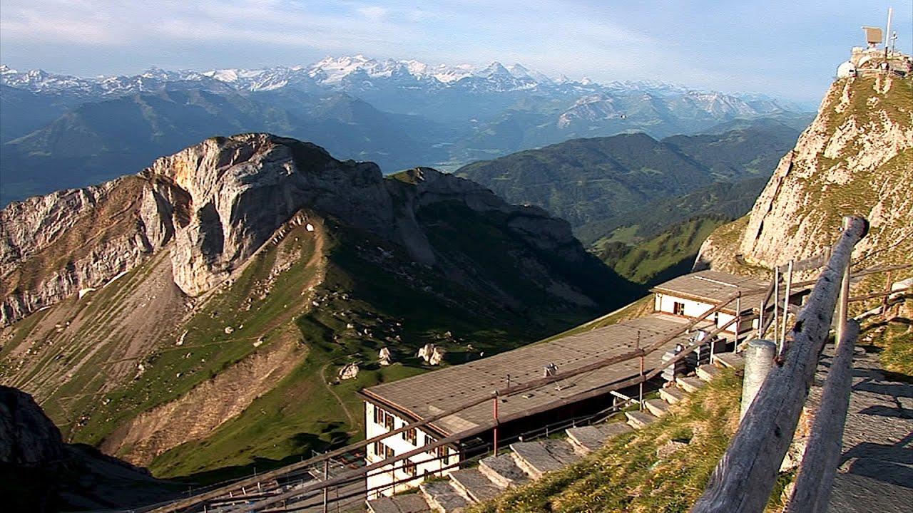 Schweiz Erleben Mit Der Zahnradbahn Auf Den Pilatus