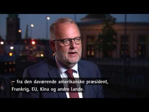 Minister om Trumps farvel til aftale: Skidt for vores børn og børnebørn - DR Nyheder