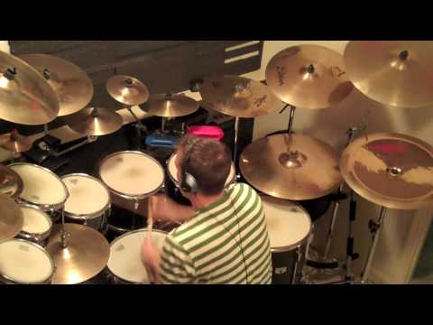 Anthony Eaton Plays Drums! RUSH - Digital Man