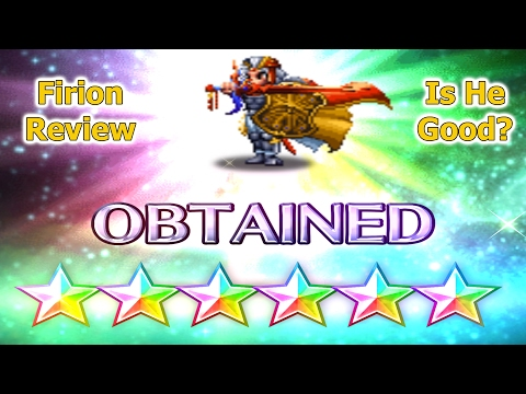 FF BE 6 Stars Firion Review: Master of Passive Killers (#79)