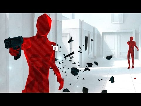 SUPERHOT | I CAN CONTROL TIME! (Matrix game (Trust me it's awesome))