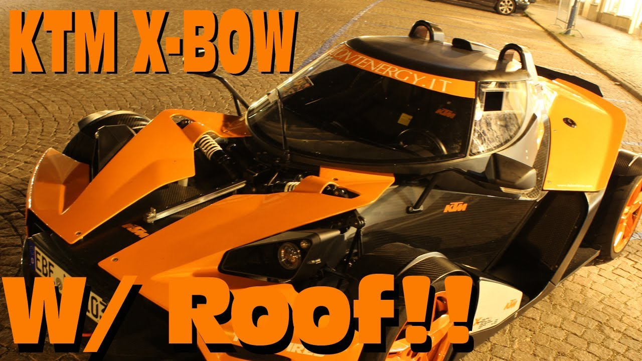 Ktm X Bow With Roof Montenergy Youtube