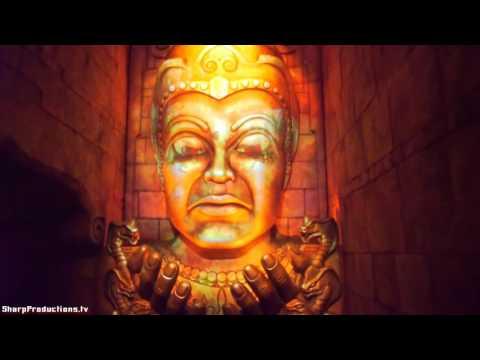 Indiana Jones Adventure (Chamber of Earthly Riches) Disneyland - 동영상