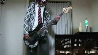 The Black Eyed Peas / Lets Get It Started (Bass Cover)