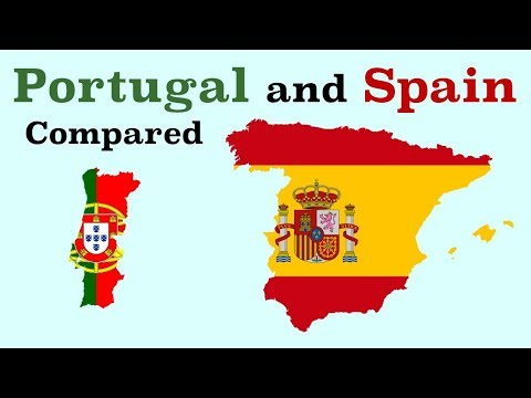 Portugal and Spain Compared