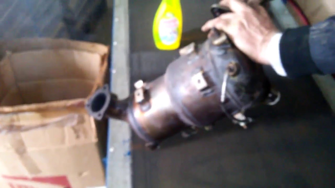 Toyota 177 Cleaning Diesel Particulate Filter Part 1