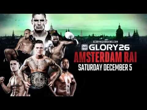 GLORY 26 Amsterdam - Broadcast Live in Australia!