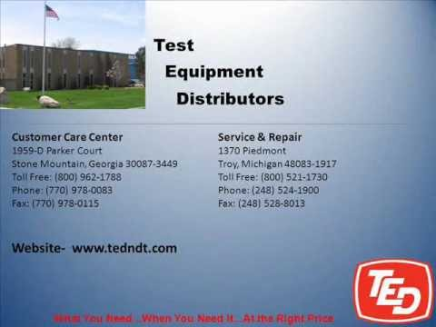 Nondestructive Testing Supplies -TED