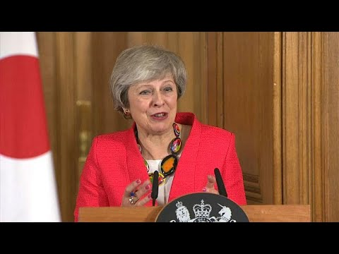 Brexit on the brain? UK PM May repeats 'deal' seven times in 41 words