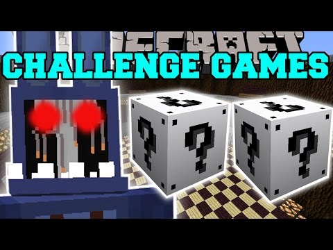 Minecraft: OLD BONNIE CHALLENGE GAMES - Lucky Block Mod - Modded Mini-Game