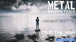 Sad Rock/Metal Ballad Backing Track in F#m | BT-137