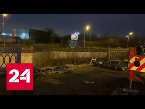 В Москве в Яузу упал автомобиль, есть погибшие - Россия 24