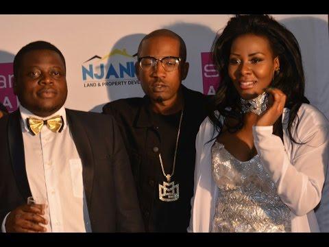 Ivan Swemwanga anywezeza Desire Luzinda ku awards za Starqt e south Africa
