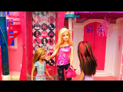 Chelsea Gets Into Mischief ! Toys and Dolls Fun Playing with Barbie Glitterizer | SWTAD
