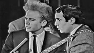 Simon & Garfunkel - A Most Peculiar Man (Live Canadian TV, 1966)