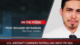 Prof. Richard Heydarian on Duterte's foreign policy options in the South China Sea - ABS-CBN