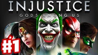 Injustice: Gods Among Us - Gameplay Walkthrough Part 1 - Batman and Intro (PS3, XBox 360, Wii U)