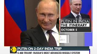 Russian President Vladimir Putin to arrive in India today