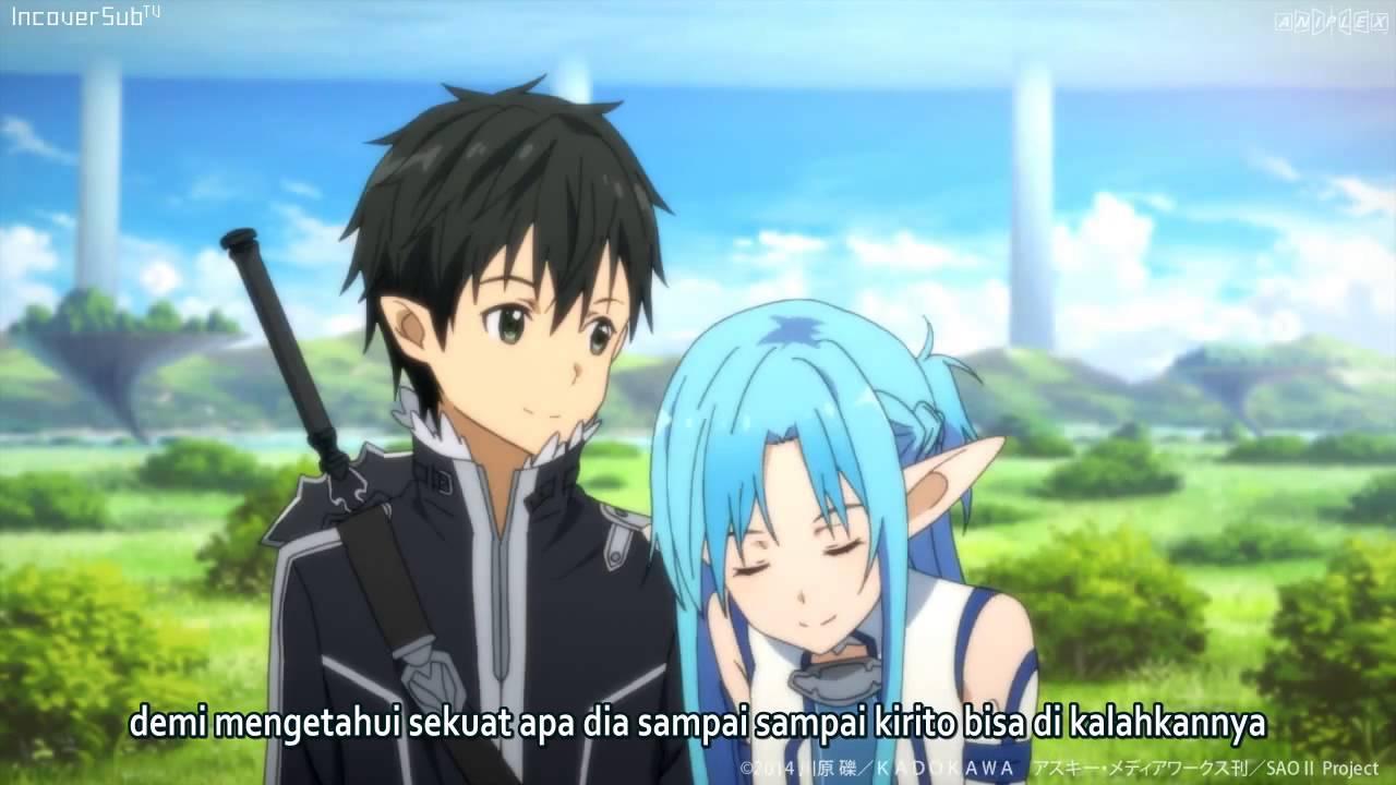 Sword art online ii episode 19 preview subtitle indonesia youtube