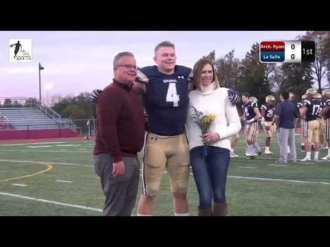 La Salle College High School Football Senior Night Ceremony 2019
