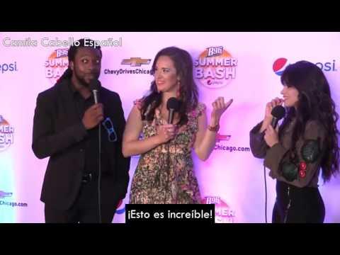 Camila Cabello en el backstage de B96 Summer Bash [Subtitulado]