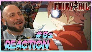 "Fairy Tail Episode 81 REACTION ""Fireball"""