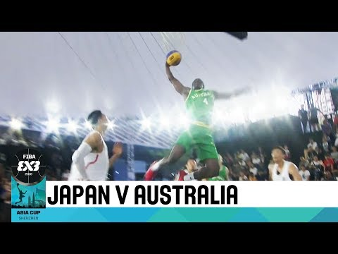 Japan v Australia - Semi-Finals - Men's Full Game - FIBA 3x3 Asia Cup 2018