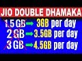 Jio Double Dhamaka Offer | 1.5 Data Extra in Every Plans & Rs.100 Flat Discount | Data Dock
