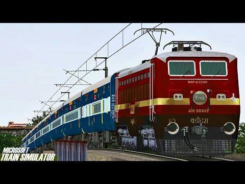 New Delhi - Gaya Junction Mahabodhi Express    BRC WAP4    MSTS Open Rails Journey Part 1