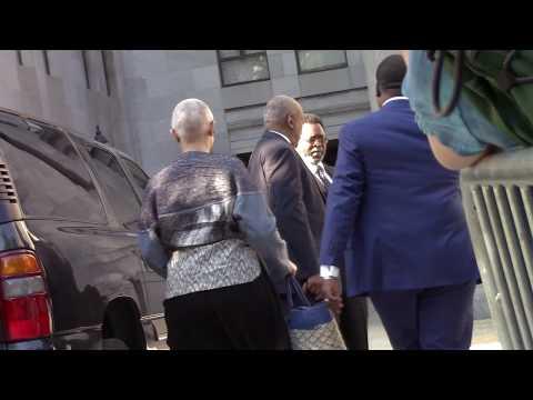 HEY HEY HEY...It's Bill Cosby !  ( heading to court )
