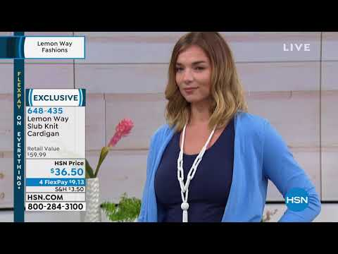 HSN   Lemon Way Fashions. http://bit.ly/2Yb8h6Y