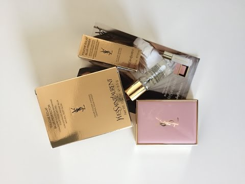 Yves Saint Laurent Touche Eclat Blur Primer & Perfector Review and Influenster YSL VoxBox Unboxing