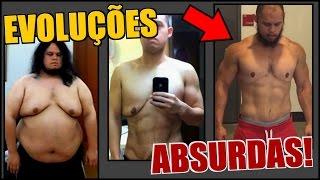 Antes e Depois na ACADEMIA - EVOLUÇÕES INCRÍVEIS!