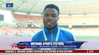 19th NSF: Itsekiri, Olowookere Happy With Performance  Sports Tonight 