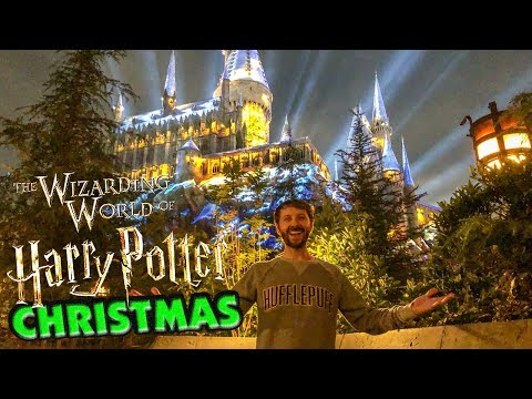Christmas in the Wizarding World of Harry Potter!