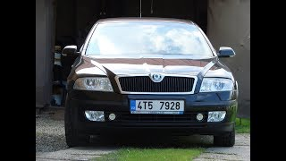 Škoda Octavia II -  čištění EGR ventilu