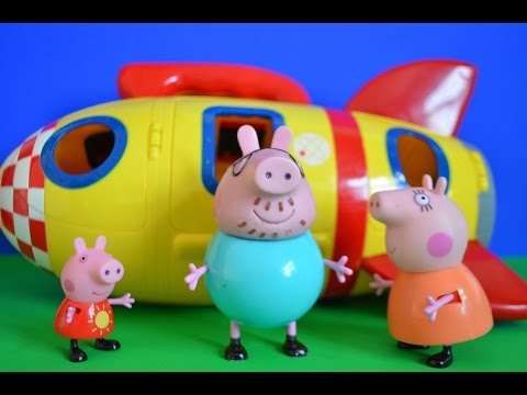 Thumbnail: New Peppa Pig Spaceship Full Episode Mammy Pig Daddy Pig Children's Story
