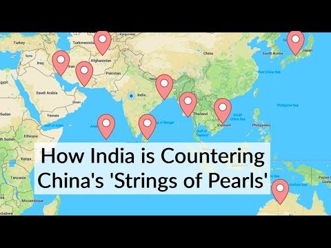 How India Is Countering China's Strings of Pearls