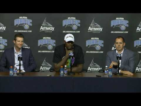 Orlando Magic - Serge Ibaka press conference