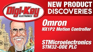 Omron and STMicroelectronics New Product Discoveries Episode 24 | DigiKey