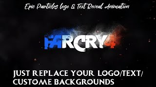 Farcry4 Particles Logo & Text Reveal Animation