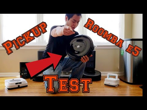 Roomba e5 is it any GOOD 🤔, iRobot Roomba e5 Pickup Test and Overview