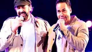 Juan Luis Guerra Ft Romeo Santos - Frio Frio  ( Live 2013 )