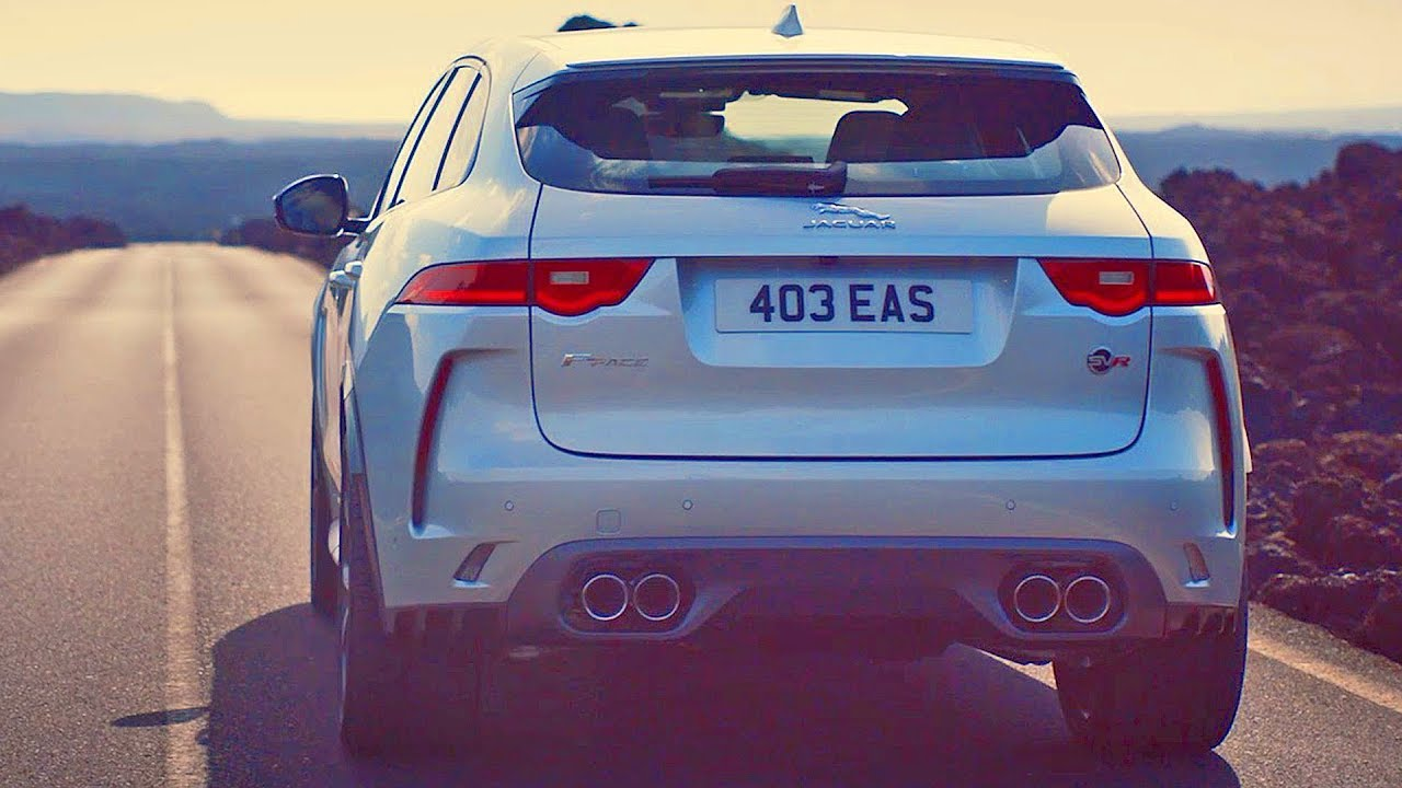 Jaguar F Pace Svr 2019 Supercharged Suv Youtube