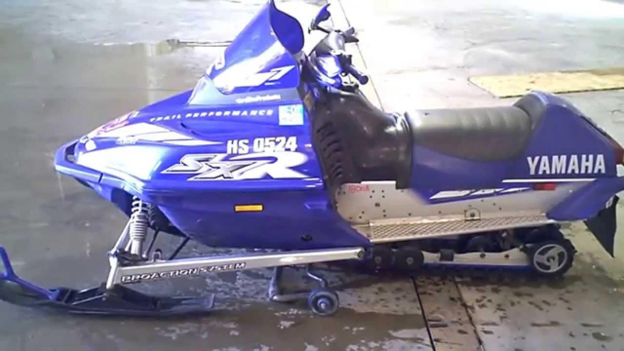 Sxr Yamaha Snowmobile