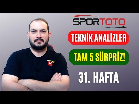 İŞTE EKSTRA SÜRPRİZLERİN NEDENLERİ.. 31. Hafta Spor Toto Tahminleri | Atistics TV