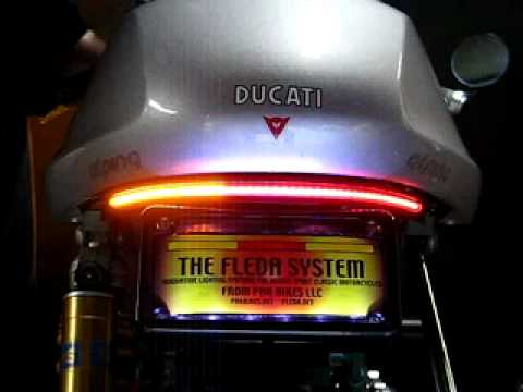 Ducati Fleda Legacy Tail Light System Youtube