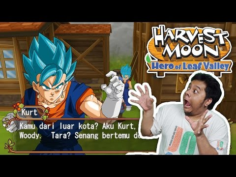 Harvest Moon PSP Indonesia (MOD) - ADA VEGETTO, LHOH!!! XD