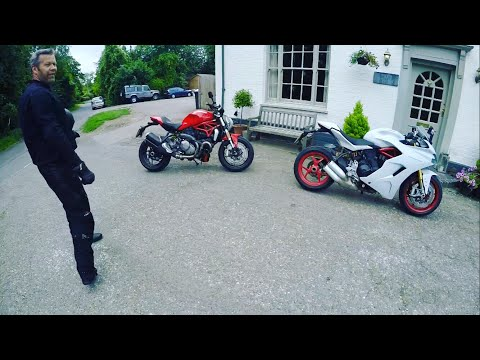 2017 DUCATI SUPERSPORT S & MONSTER 1200, and ride the 2017 R1, filmed in 1080p 90fps