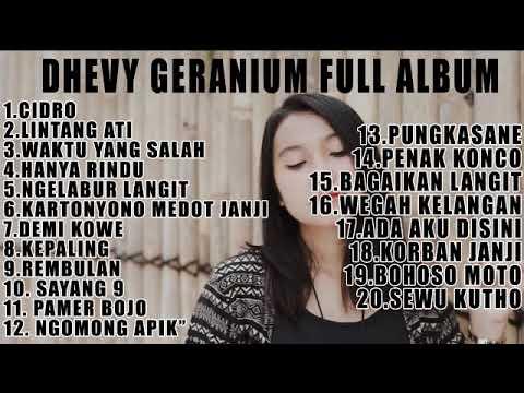 Dhevy Geranium Lagu Ambyar Full Album Ska Reggae Youtube